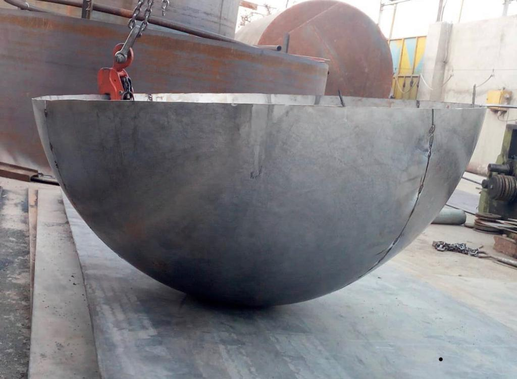 عدسی HEMISPHERICAL  کروی